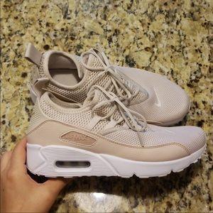 Tan Nike Air Max Shoes